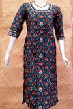 Elegant Cotton  Kurta with mirror work & Gota Work