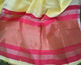 Handwoven Pure Dupion Silk Saree