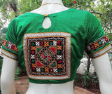 Khunn blouse with Kutch Embroidery