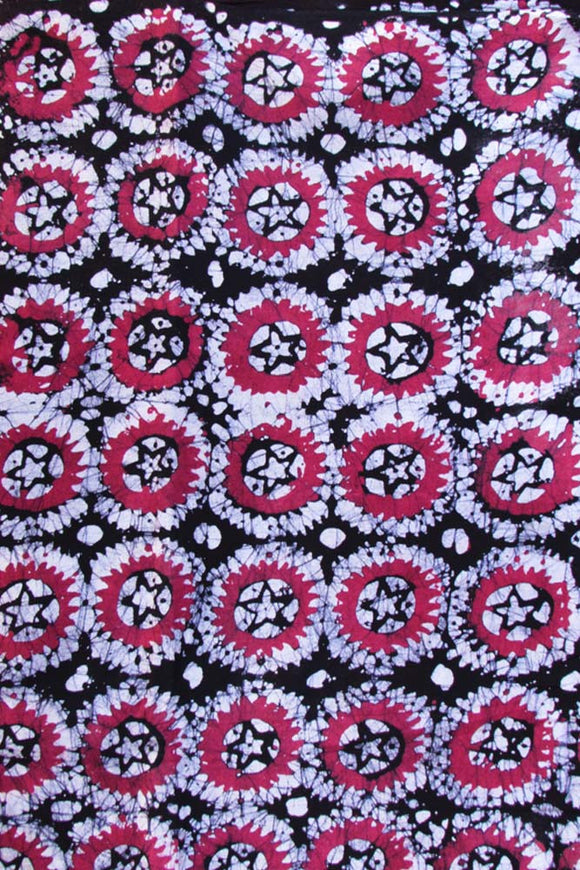 Batik Print Cotton Fabric