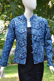 Block Print Quilted Reversible cotton jacket