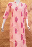Elegant Cotton kurta with Gota Work