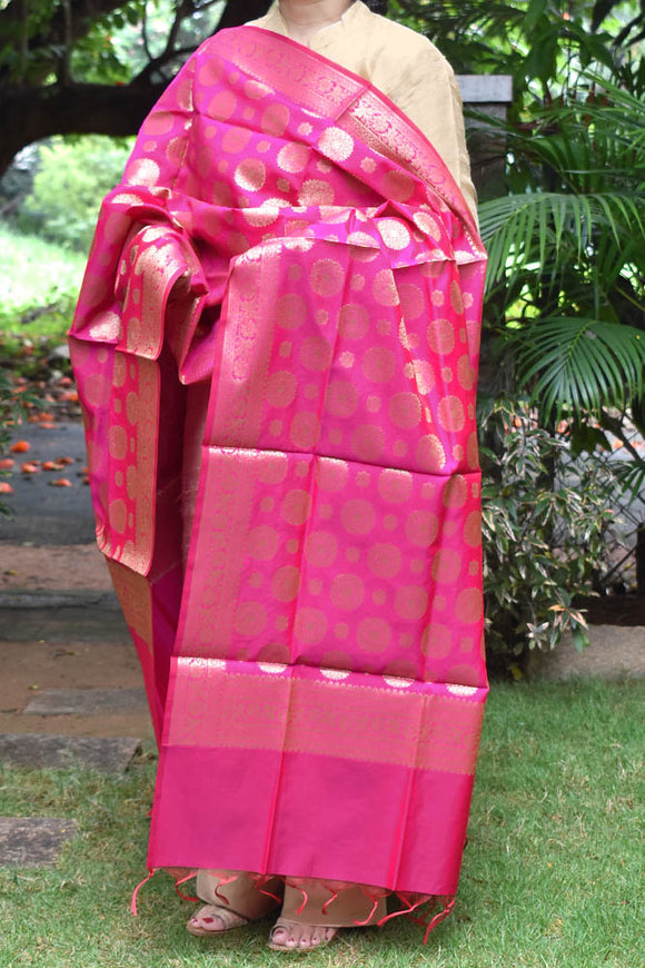 Beautiful Art Silk Banarasi Dupatta