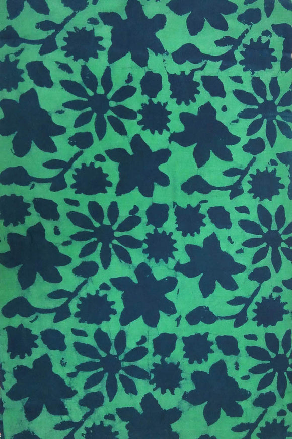 Dabu Block Printed Cotton Cut Fabric