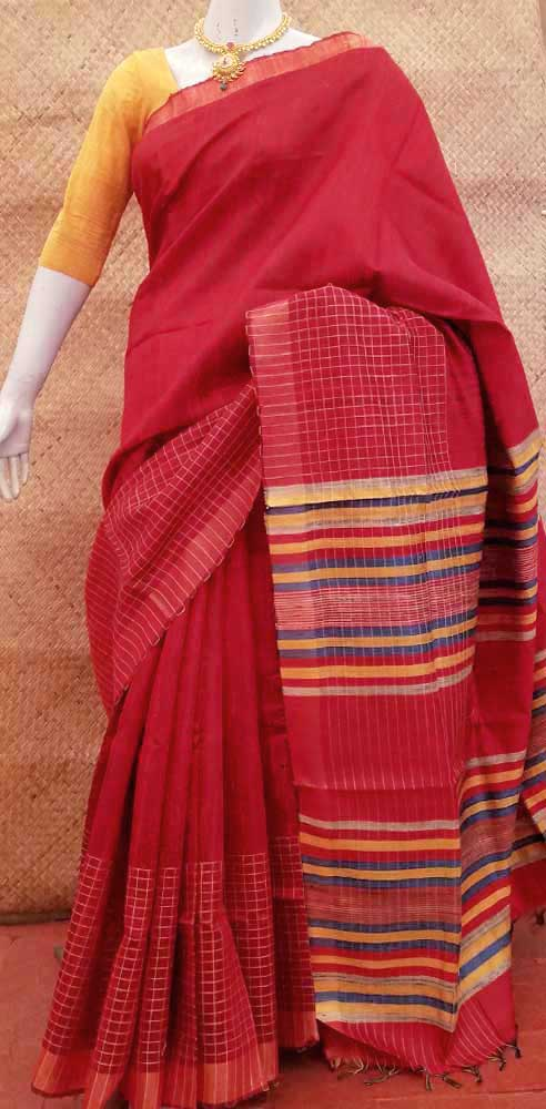 Beautiful Dupion Silk Saree
