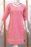 Elegant Khadi Cotton dress