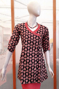 Elegant Cotton Short  Kurti/ Short Top