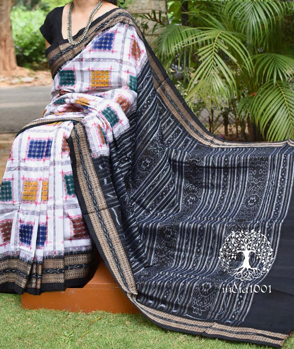 Elegant Handwoven Ashwini Cotton Saree ( without BP )