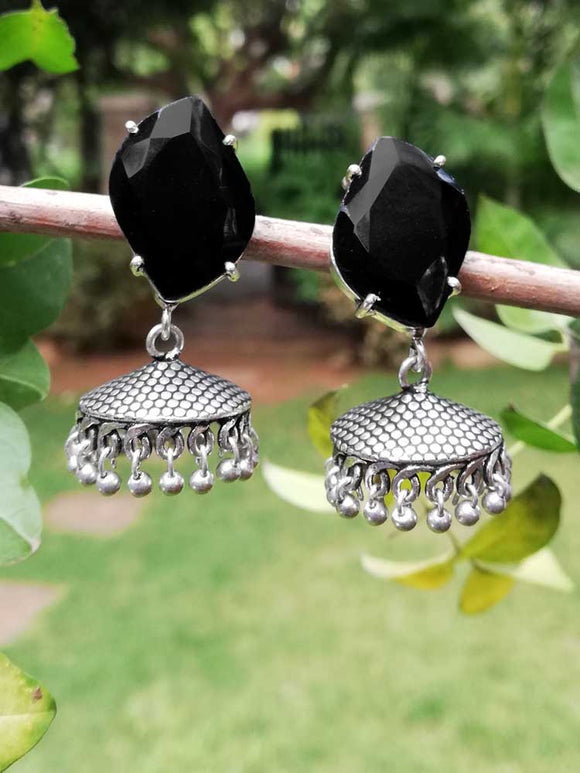 Beautiful German Silver Earrings