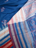 Elegant Handwoven Doll Bomkai cotton Saree