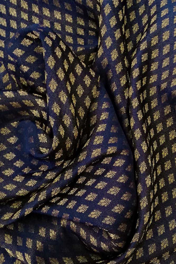 Silk Cotton Brocade Blouse fabric