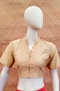 Woven Silk Cotton Blouse