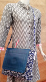 Kutch Leather & Batik Sling bag