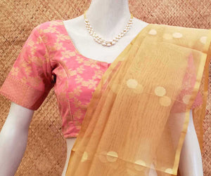 Elegant Brocade  Blouse