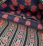 Kutch Leather & Kalamkari Sling bag