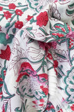 Beautiful Block Printed Running Cotton Fabric