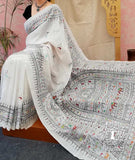 Fine and Elegant Handpainted Saura/Sora Art saree