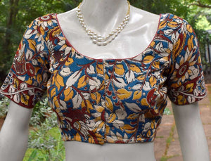 Kalamkari  cotton Blouse - Size 36 , 38 , 40 , 42 , 44