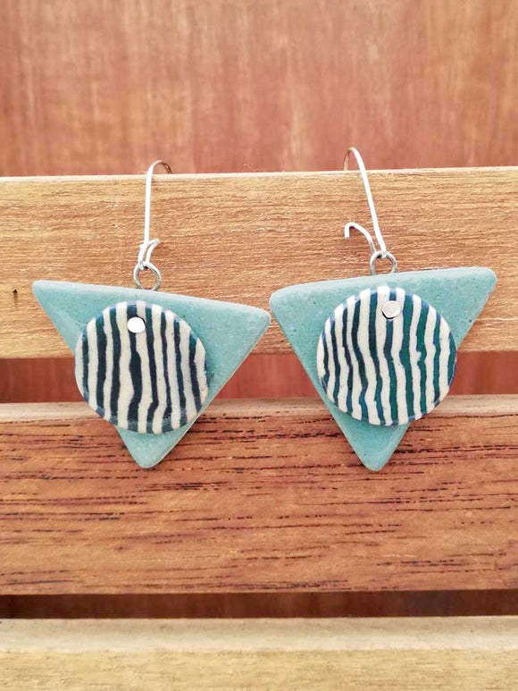 Handcrafted Ceramic earrings