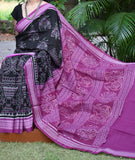 Elegant Handloom Orissa Ikkat Cotton Saree