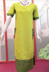 Elegant Cotton Long Kurta