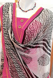 Beautiful Jacquard Cotton unstitched suit fabric