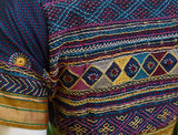 Beautiful Khun blouse with hand done Lambani work - Size 40 ( can be altered)