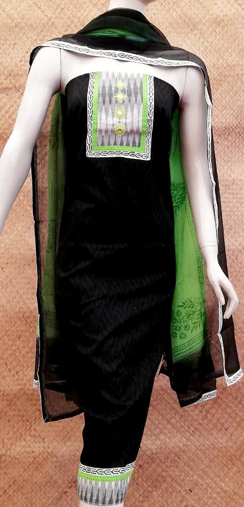 Designer Cotton Unstitched Suit Fabric