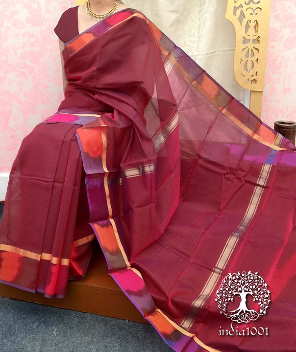 Elegant Negamum Si-co saree with Tie & Dye