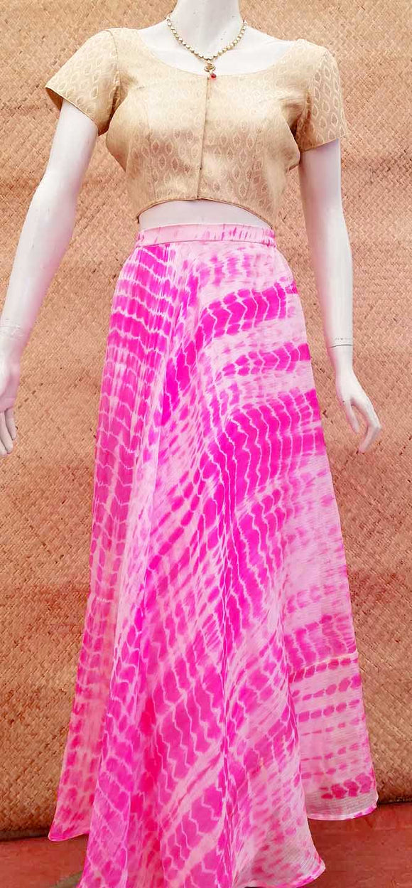 Stunning Kota silk long skirt
