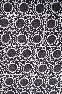 Block Printed Running Cotton Fabric