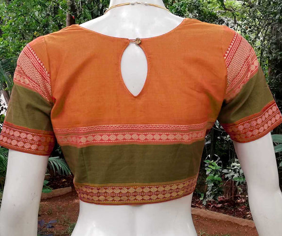 Kanchi cotton blouse - size - 36 ,38 , 40 & 42