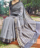 Elegant Mangalgiri Cotton Saree with Zari border