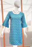 Elegant Ikkat Cotton dress
