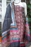 Elegant Tussar Silk Kurta and dupatta