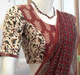 Block Printed  Cotton Blouse