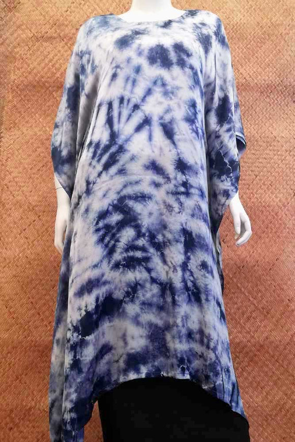 Beautiful Tie & Dye Modal Silk Kaftan