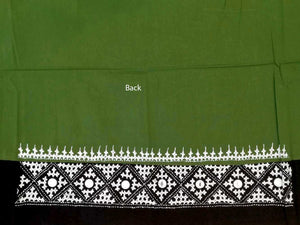 Embroidered cotton blouse fabric
