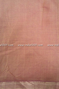 Fine Woven Mangalgiri cotton fabric with Nizam border