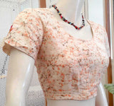 Cotton Blouse with Applique work- size - 38