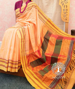 Beautiful Handwoven Cotton Ilkal Saree