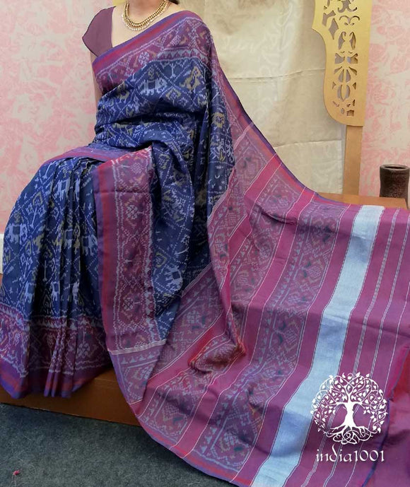 Beautiful Woven Patola Cotton Saree