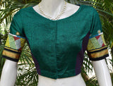 Beautiful Khun blouse with hand done Lambani work - Size 42 ( can be altered)