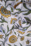 Hand Block Printed Running Cotton Fabric
