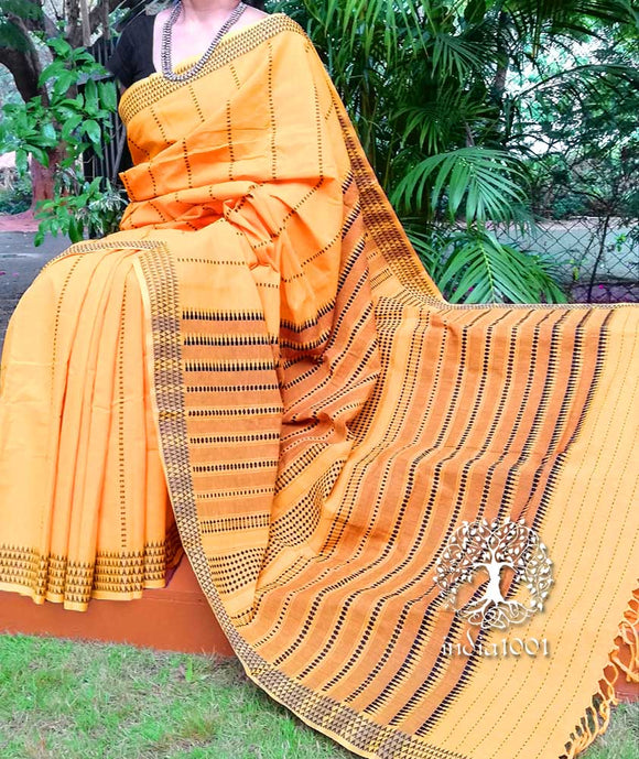 Beautiful Hand Woven Begumpuri Saree
