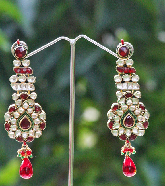 Stunning Kundan Earrings