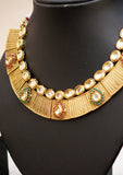 Stunning Kundan &  Polki Necklace Set
