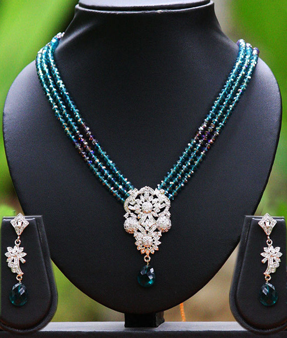 Royal American Diamond mala set
