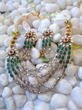 Elegant Kundan & Polki Necklace set