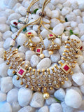 Designer Kundan & Polki Necklace set